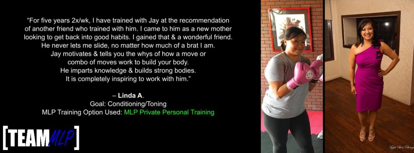 Team MLP Testimonial Linda