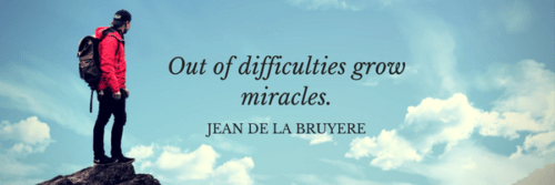 Miracles From Difficulties