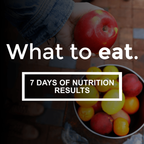 Free Nutrition Plan